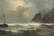 Edward Moran, 'Casco Bay'