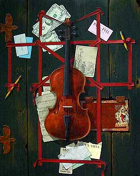 Go to Trompe L'Oeil Still Life Paintings